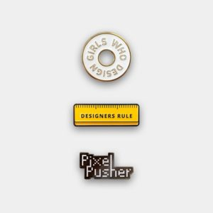 Set of 3 Design Pins