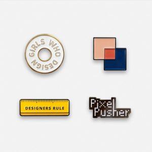 Set of 4 Design Pins